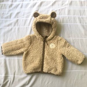 The North Face Plushee Bear Fleece Hoodie- Infants